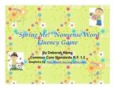 """Spring Me!"" A Nonsense Word Fluency Game-Common Core"