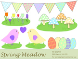 Spring Meadow (Personal and Commercial Use)