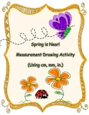Spring Measure Drawing Activity