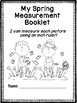 Spring Measurement Activity Book!