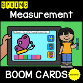 Spring Measurement BOOM CARDS™ Distance Learning