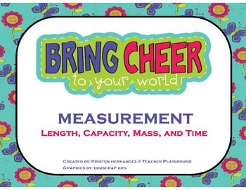Spring Measurement Match Up (Length, Capacity, Mass, and Time)