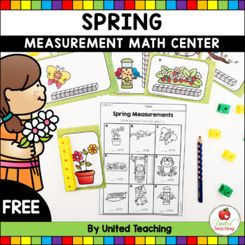 Spring Measurement Math Center FREE