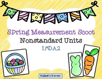 Easter/Spring Measurement Scoot-   Nonstandard Units
