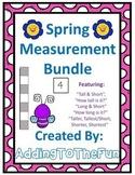 Spring Measurement Worksheets