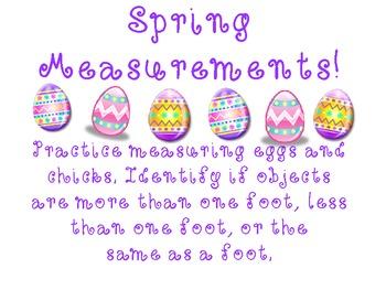 Spring Measurements!