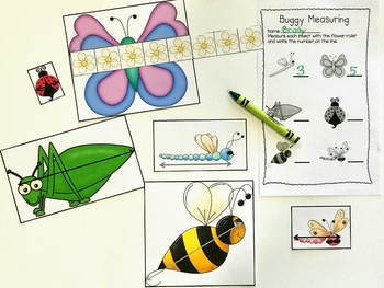 Spring Measuring Fun! A Common Core Aligned Pack!