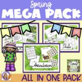 Spring Mega Pack- Language, Social skills, Articulation