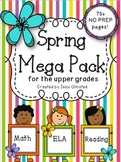 Spring Mega Pack for the Upper Grades