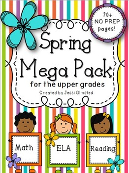 Spring Mega Pack for the Upper Grades