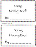 Spring Memory Book