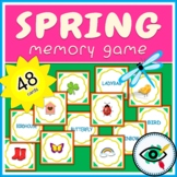 Spring Memory Game printable