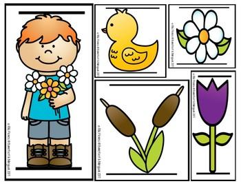 Spring Mide & Escribe (Measure & Write)