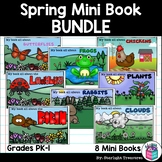 Spring Mini Book Bundle - Rabbits, Chickens, Frogs, Butterflies, and more