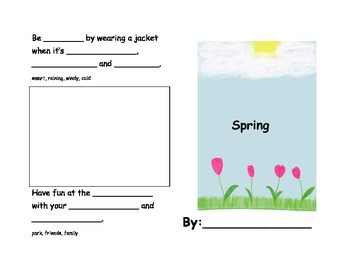 Spring Mini Booklet