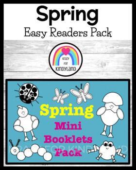 Spring Mini Books: Six Easy Readers