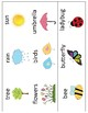 Spring Mini Books Template - with Vocabulary Cards