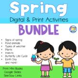Spring Mini Books (Emergent Readers) Bundle