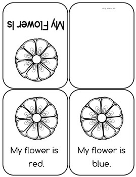 "Spring Mini Emergent Readers for Sight Words ""My"", ""This"" and ""is"""