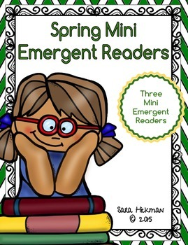 "Spring Mini Emergent Readers for Sight Words ""My"", ""This"""