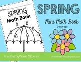 Spring Mini Math Book (No Prep)