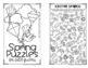 Spring Mini Puzzle Book for Fifth Graders