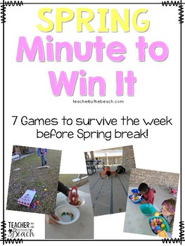 Spring Minute to Win It Games