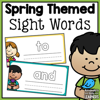 Spring Sight Word Practice