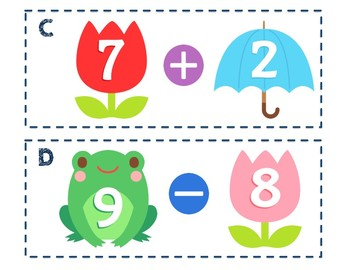 Spring Mixed Math