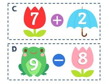 Spring Mixed Math