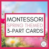 Spring Montessori 3 Part Cards