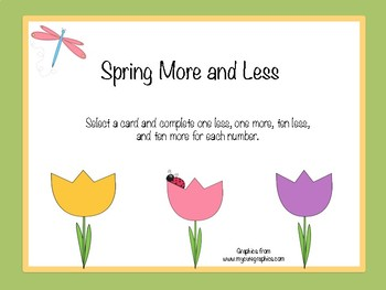 Spring More and Less