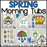 Spring Morning Tubs