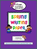 Spring / Mother's Day / Easter Writing Paper