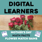 Spring/Mother's Day Math Facts Activity   Google Distance Learning