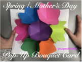 Spring / Mother's Day Pop-Up Bouquet Card