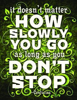 Spring Motivational Poster-Printable