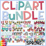 Spring Movable Clipart Growing Bundle