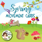 Spring Movement Cards (16 cards)