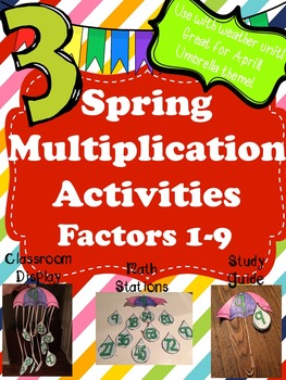 Spring Multiplication Activities