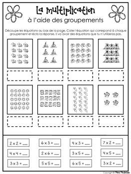 Spring Multiplication Bundle/Activités de multiplication