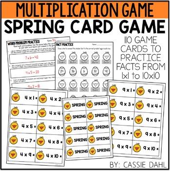 Spring Multiplication Game