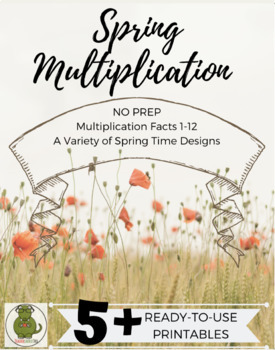 Spring Multiplication Facts (NO PREP, Printables)