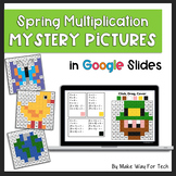 Earth Day, Insect, Easter Multiplication Mystery Pictures for Google Classroom