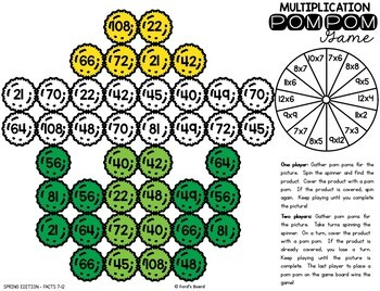 Spring Multiplication Games   Spring Multiplication Fact Practice