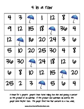 Spring Multiplication and Division Games