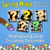 Multiplying And Dividing Decimals Practice, Spring Math Pages Coloring Sheets