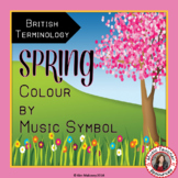 Spring Music Activities - Colour by Music Symbol