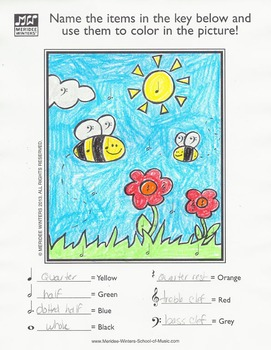 Spring Music Activity Packet