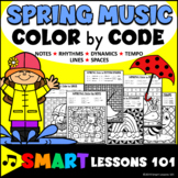 Spring Music Color by Code Color by Note Color by Rhythm Color by Dynamics Tempo